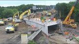 Οι Ολλανδοί κατασκευάζουν ένα τούνελ σε δύο μέρες