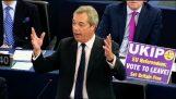 Nigel Farage: Ζούμε σε μια Ευρώπη απόλυτης γερμανικής κυριαρχίας