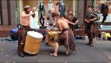 Σκωτσέζικη μουσική στο δρόμο