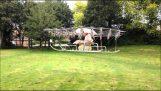 Μια ιπτάμενη μηχανή με 54 κινητήρες από drone