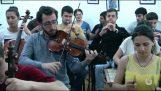 """Μαθητές από την Αρμενία διασκευάζουν το """"Aerials""""  με παραδοσιακά όργανα"""