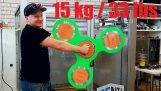 World´s Largest Real 3d-Printed Fidget Spinner!