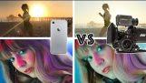 Comparing an iPhone camera to a regular Hollywood camera