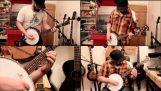 Metallica – Введіть Sandman банджо покриття