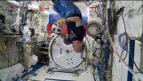 כדורגל בתחנת החלל הבינלאומית