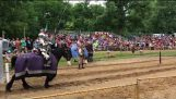 Jousting at the Olde English Faire