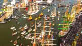 The port of Amsterdam in timelapse