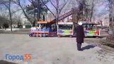 Детски влак в Русия