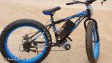 Conversão de uma bicicleta de montanha em elétrica