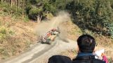 The ugly accident of Thierry Neuville in Chile Rally