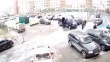 कार्रवाई में रूसी पुलिस के विशेष बलों