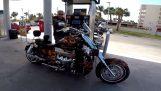 Μοτοσικλέτα 1200 ίππων, доубле турбо и нитро