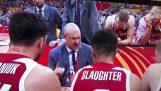 The strange voice of Poland coach