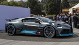The presentation of the new Bugatti Divo