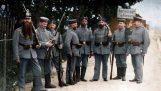 fotos en color de la primera guerra mundial