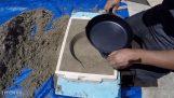 Χύτευση ενός τηγανιού από αλουμίνιο