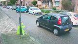 पार्क करने के लिए एक छोटी सी गलती