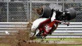 Η συντριβή του Marcus Ericsson στα δοκιμαστικά για το GP της Monza