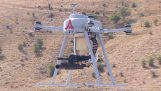 Drones equipped with sub machine guns