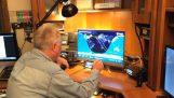 Επικοινωνία με τον ISS χρησιμοποιώντας έναν πομποδέκτη