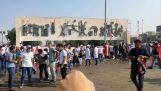 Pittura manifestazioni in Iraq