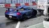 He destroyed his Porsche on the empty streets of New York