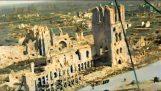 Champs de bataille de la Première Guerre mondiale en vues aériennes