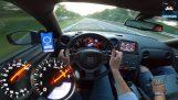日産GTR 1400 hpの運転