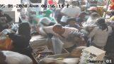 Looter en lille butik i Chicago