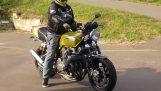 Motocykel, ktorý znie ako auto formuly 1