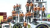 Katonai felvonulás Egyiptomban