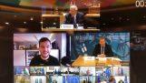 Un periodista holandés se unió a la conferencia de ministros de defensa de la UE