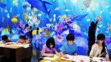Aquarium de peintures
