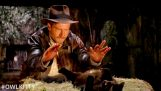 Indiana Jones discovers a cat
