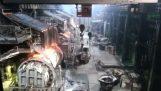 Výbuch v továrni na meď (Rusko)