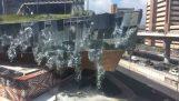 Ένα καινούριο εμπορικό κέντρο καταρρέει (Μεξικό)