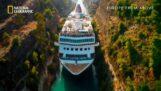 Canale di Corinto: il canale più profondo del mondo