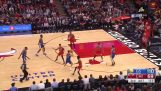 Klay Thompson breaks the record scoring 14 three pointers