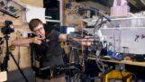 Robotický systém zaměřování lukostřelby