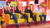 Mensen met een raar gelach, ontmoet in een tv-programma