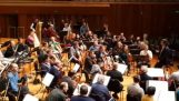 The Berlin Philharmonic Orchestra makes a surprise to one of its musicians