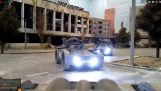 Network game with real RC vehicles