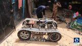 """Μηχανικός κατασκευάζει το πρώτο """"τανκ"""" της Σομαλίας"""