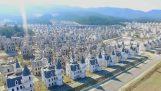 अपने 300 महल के साथ परित्यक्त शहर