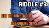 Jsi dost chytrý na to, zjistit číslo parkovací pozice;