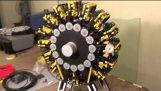Crazy lego air engine