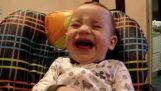Бебешки смях заразна