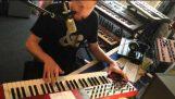 Daft Punk – Plus dur, meilleur, plus rapide, plus fort (couvercle complet talkbox)