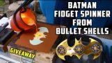 Casting Brass Batman vrtět Spinner z Bullet skořepiny