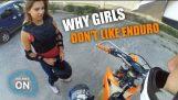 kızlar enduro'su sevmiyorum Neden
